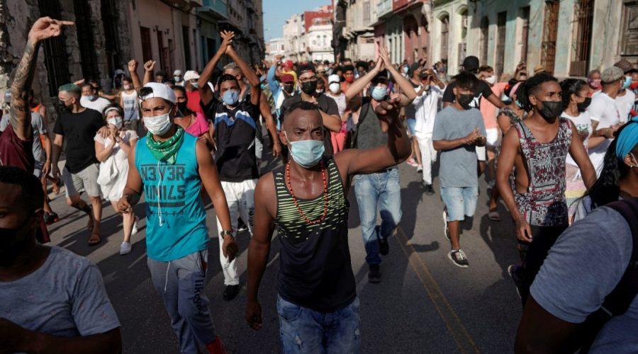 Frustration boils over in Cuba