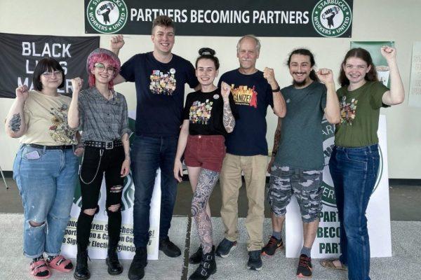 Starbucks baristas organize in Buffalo, New York