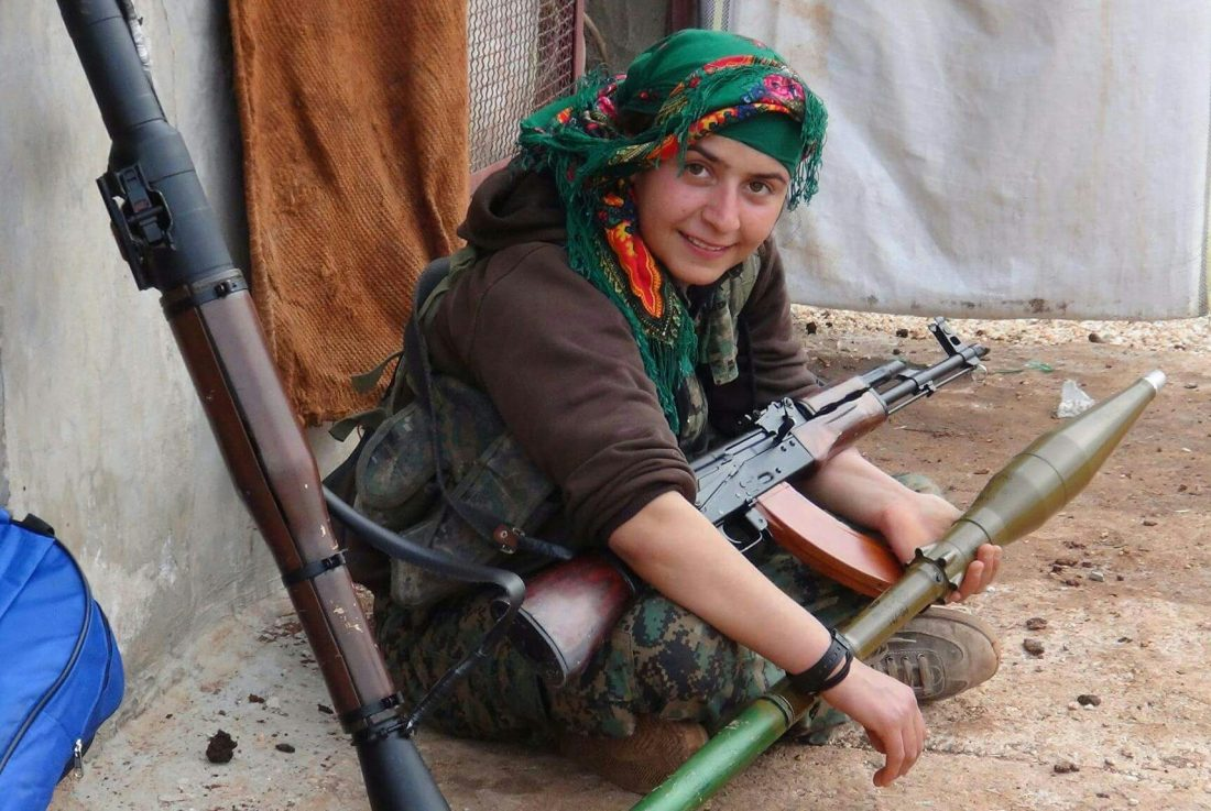 Women take up arms for survival, liberation