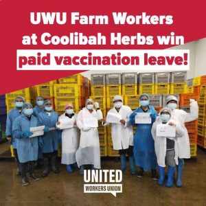 United Workers Union Farm Workers